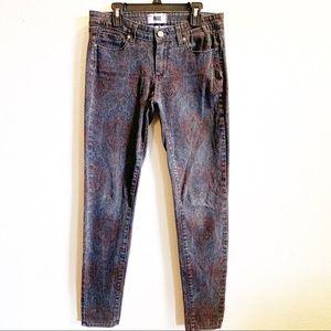 Paige Verdugo Ultra Skinny Printed Jeans
